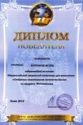 Бурлаков И.-Пятерочка, зима 2014.jpg